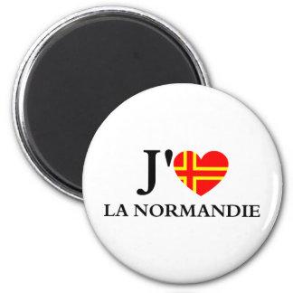 I like Normandy Fridge Magnet
