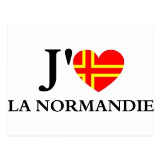 I like Normandy Postcard