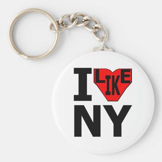 I Like NY Keychain 3