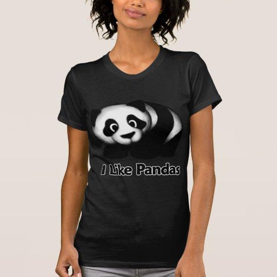 I Like Pandas T-Shirt