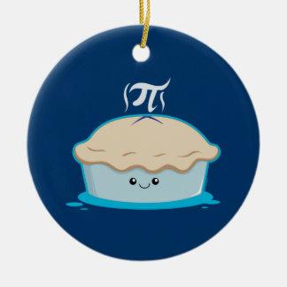 I Like Pi Christmas Ornament