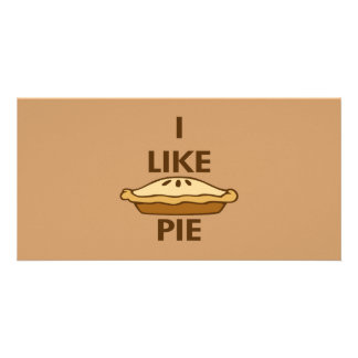 I Like Pie Photo Cards