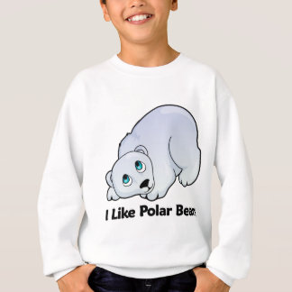 I Like Polar Bears Sweatshirt