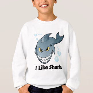 I Like Sharks Sweatshirt