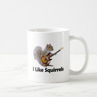 I Like Squirrels Coffee Mug