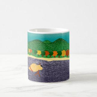 I like Sticks-Autumn  Stephen Huneck Coffee Mug