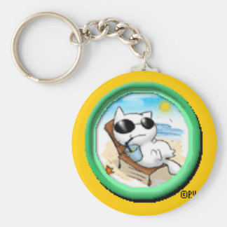 I like... the Beach Basic Round Button Key Ring