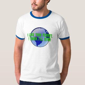I Like This Planet, I Think I'll Stay T-Shirt