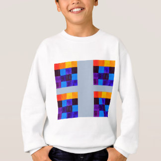 I like to be squarish sweatshirt