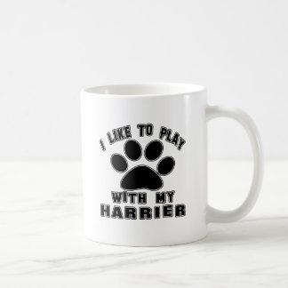 I like to play with my Harrier. Coffee Mug