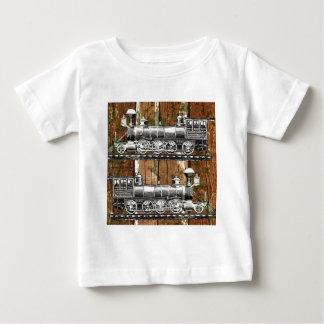 I Like Trains Baby T-Shirt