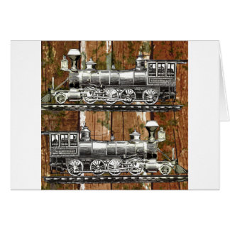 I Like Trains Greeting Card