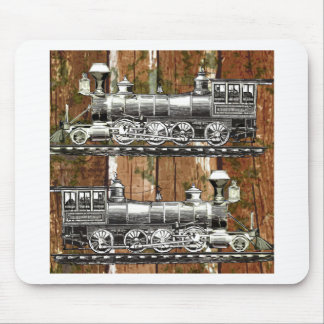 I Like Trains Mouse Pad