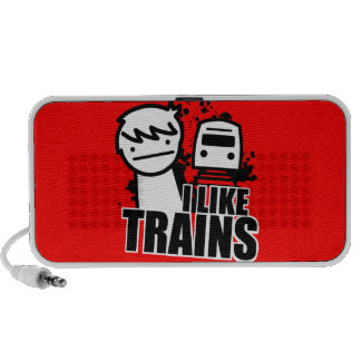 I like trains mp3 speakers