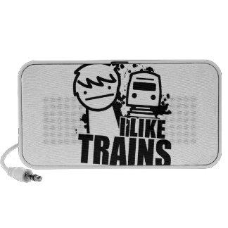 i like trains speakers