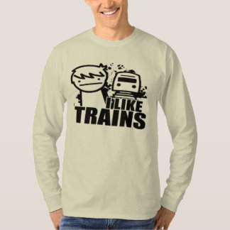 I LIKE TRAINS T-SHIRTS