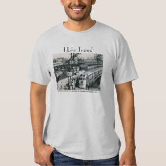 I Like Trains Vintage Shirts
