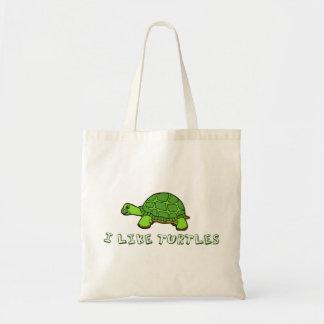 I Like Turtles Budget Tote Bag