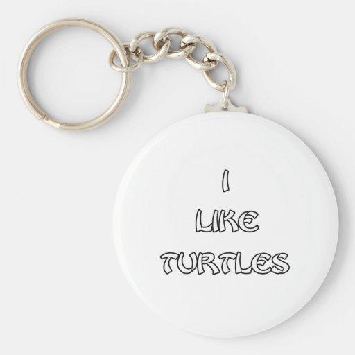 I like Turtles Key Chains