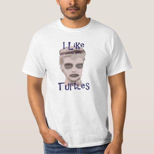 I Like Turtles Kid T-Shirt