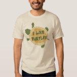 I Like Turtles T Shirts