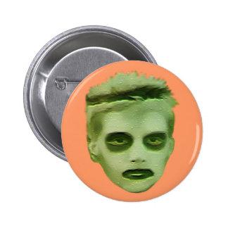 I Like Turtles Zombie Kid - Badge