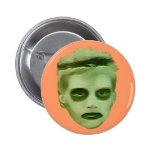 I Like Turtles Zombie Kid - Badge Pinback Buttons