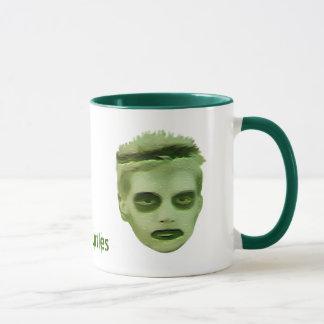 I Like Turtles Zombie Kid Mug