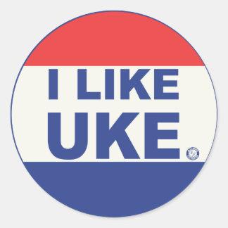 I Like UKE stickers