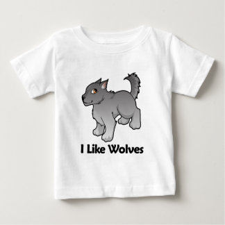 I Like Wolves Baby T-Shirt