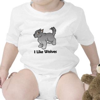 I Like Wolves Bodysuit