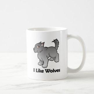 I Like Wolves Mugs