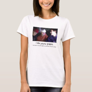 """I Like Yeyow Grapes"" T-Shirt"