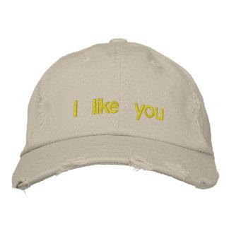 I like you baseball cap