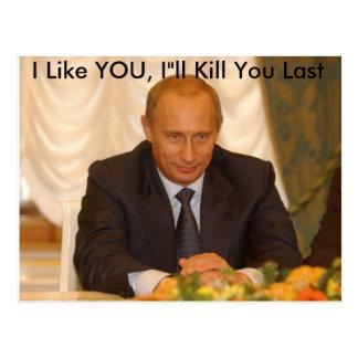 """I Like YOU, I""""ll Kill You Last Postcard"""