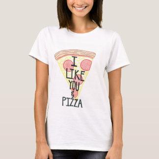 I Like You & Pizza Shirt