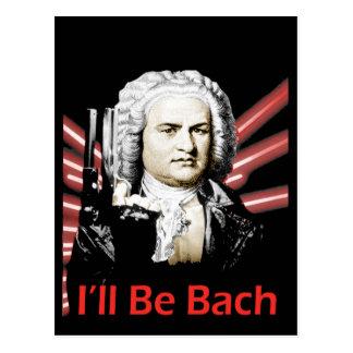 I ll Be Bach Postcard