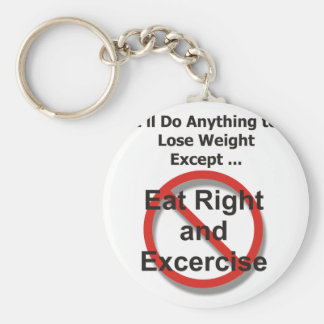 I ll do anything to lose weight except keychain