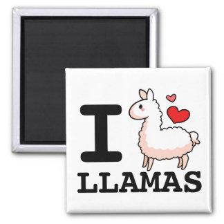 I Llama Llamas Magnet