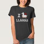 I Llama Llamas T Shirts