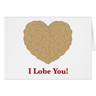I Lobe You Note Cards