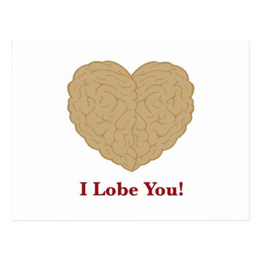 I Lobe You Postcard