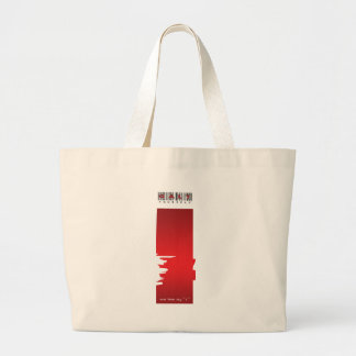 """ i "" logo canvas bag"