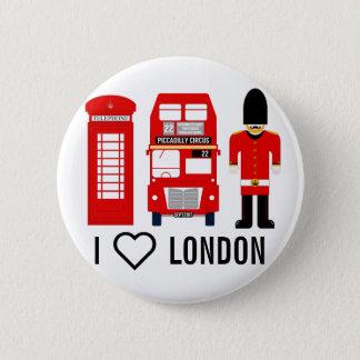 I ❤️London, England Badge
