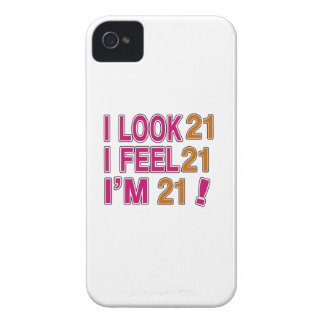I Look And I Feel 21 iPhone 4 Case-Mate Case