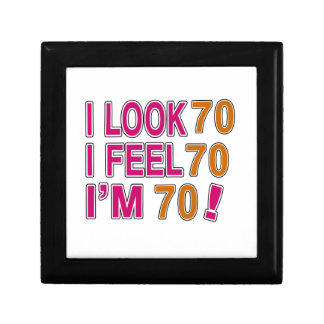 I Look And I Feel 70 Small Square Gift Box