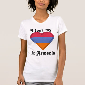 I lost my heart in Armenia T-Shirt