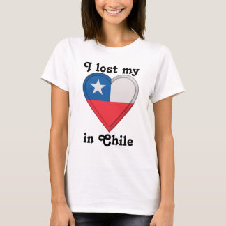 I lost my heart in Chile T-Shirt