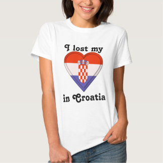 I lost my heart in Croatia T-shirt