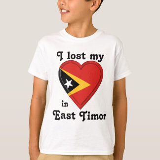 I lost my heart in East Timor T-Shirt